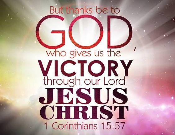 Verse of the Day - 1 Corinthians 15:57 KJV - Highland Park Baptist Church -  Lenoir City, Tennessee